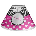 Zebra Print & Polka Dots Coolie Lamp Shade (Personalized)