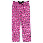 Zebra Print & Polka Dots Mens Pajama Pants (Personalized)