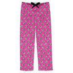 Zebra Print & Polka Dots Mens Pajama Pants (Personalized)