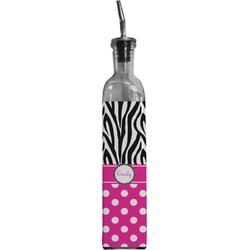 Zebra Print & Polka Dots Oil Dispenser Bottle (Personalized)