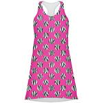 Zebra Print & Polka Dots Racerback Dress (Personalized)