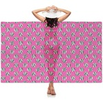 Zebra Print & Polka Dots Sheer Sarong (Personalized)
