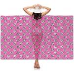Zebra Print & Polka Dots Sheer Sarong (Personalized)