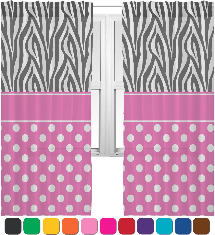 Zebra Print Sheer Curtains Curtain Menzilperde Net