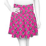 Zebra Print & Polka Dots Skater Skirt (Personalized)