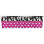 Zebra Print & Polka Dots Valance (Personalized)