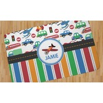 Transportation & Stripes Area Rug (Personalized)
