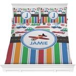 Transportation & Stripes Comforters (Personalized)