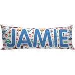 Transportation & Stripes Body Pillow Case (Personalized)