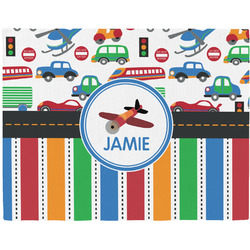 Transportation & Stripes Placemat (Fabric) (Personalized)
