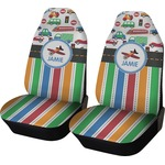 Transportation & Stripes Car Seat Covers (Set of Two) (Personalized)