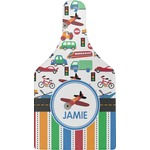 Transportation & Stripes Cheese Board (Personalized)