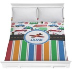 Transportation & Stripes Comforter (Personalized)