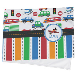 Transportation & Stripes Cooling Towel (Personalized)