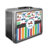 Transportation & Stripes Lunch Box (Personalized)