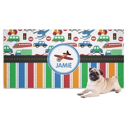 Transportation & Stripes Pet Towel (Personalized)