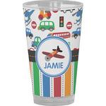Transportation & Stripes Drinking / Pint Glass (Personalized)