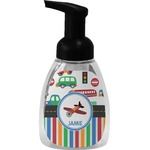 Transportation & Stripes Foam Soap Dispenser (Personalized)