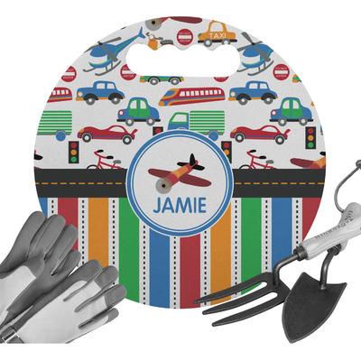 Transportation & Stripes Gardening Knee Cushion (Personalized)