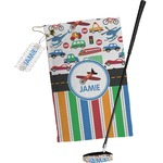 Transportation & Stripes Golf Towel Gift Set (Personalized)