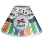 Transportation & Stripes Coolie Lamp Shade (Personalized)