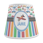 Transportation & Stripes Empire Lamp Shade (Personalized)
