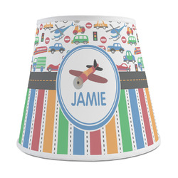 Transportation & Stripes Empire Lamp Shade (Personalized)