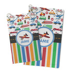 Transportation & Stripes Microfiber Golf Towel (Personalized)