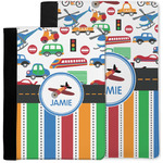 Transportation & Stripes Notebook Padfolio w/ Name or Text