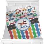 Transportation & Stripes Blanket (Personalized)