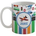 Transportation & Stripes Coffee Mug (Personalized)