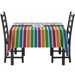 Transportation & Stripes Tablecloth (Personalized)