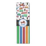 Transportation & Stripes Runner Rug - 3.66'x8' (Personalized)