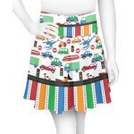 Transportation & Stripes Skater Skirt (Personalized)