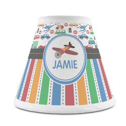 Transportation & Stripes Chandelier Lamp Shade (Personalized)