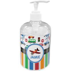 Transportation & Stripes Soap / Lotion Dispenser (Personalized)