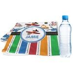 Transportation & Stripes Sports & Fitness Towel (Personalized)