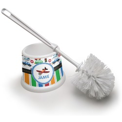 Transportation & Stripes Toilet Brush (Personalized)