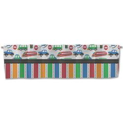 Transportation & Stripes Valance (Personalized)