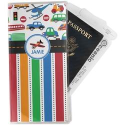 Transportation & Stripes Travel Document Holder