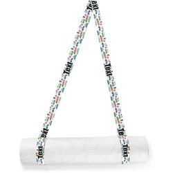 Transportation & Stripes Yoga Mat Strap (Personalized)