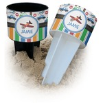 Transportation & Stripes Beach Spiker Drink Holder (Personalized)