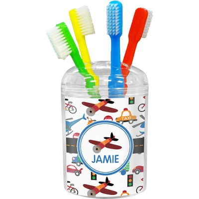 Transportation Toothbrush Holder (Personalized)