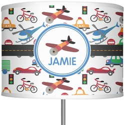"Transportation 13"" Drum Lamp Shade (Personalized)"