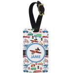 Transportation Aluminum Luggage Tag (Personalized)
