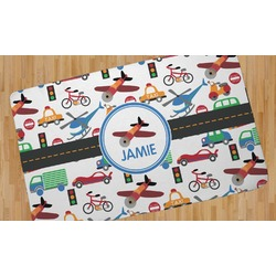 Transportation Area Rug (Personalized)