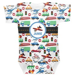Transportation Baby Bodysuit (Personalized)