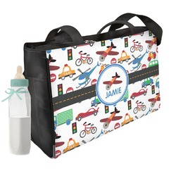 Transportation Diaper Bag (Personalized)
