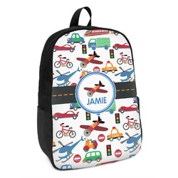Transportation Kids Backpack (Personalized)