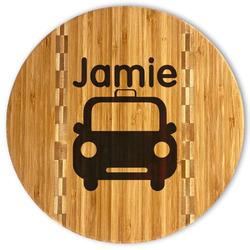 Transportation Bamboo Cutting Board (Personalized)